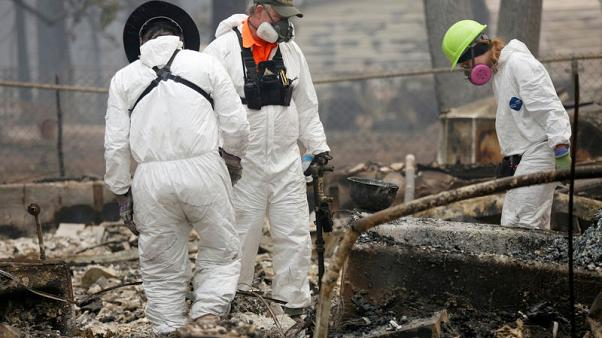 Crews still searching for bodies a week after fire destroys California town