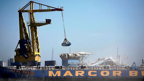 Euro zone GDP growth rate confirmed at four-year low