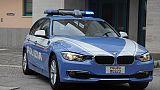 Polizia fuori banca,arrestati rapinatori
