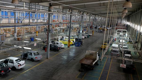 Car plant shows limits to Iran's economic ambitions in Syria