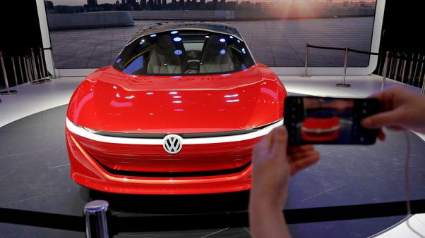 VW to convert three German plants to build electric cars