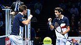 Masters: Mahut et Herbert s'imposent en double pour leur 2e match