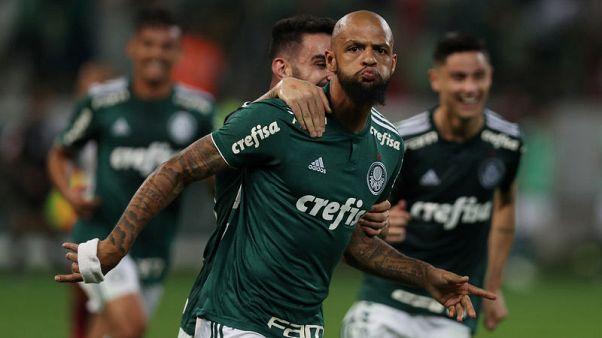 بالميراس يقترب من لقب الدوري البرازيلي بفوز 3-صفر