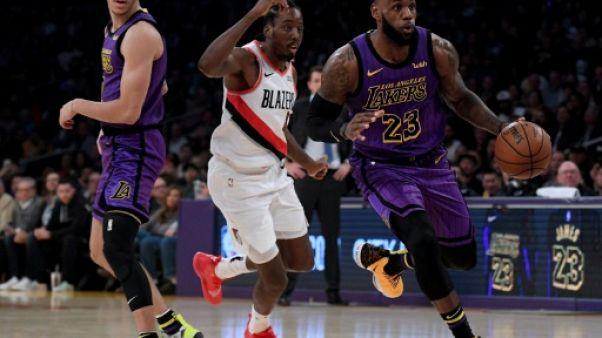 NBA: LeBron James dépasse Wilt Chamberlain et entre dans le top 5 des marqueurs