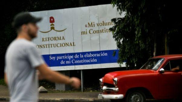Cuba vers une nouvelle Constitution, après trois mois de débats