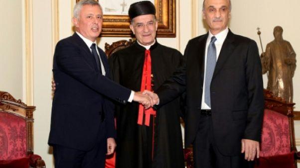 Liban: deux leaders chrétiens de la guerre civile tournent la page d'une discorde meurtrière