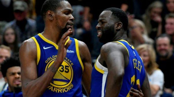 NBA: l'ogre Golden State vacille après la dispute Green/Durant