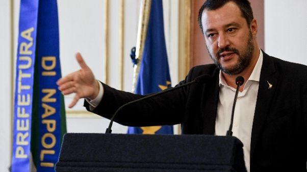 Salvini, Austria-Olanda? Pensino a loro