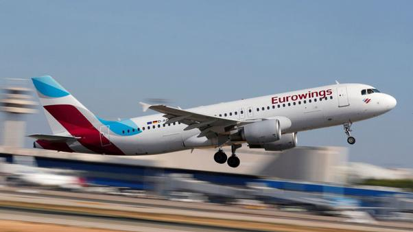 Cabin crew at Lufthansa's Eurowings threaten industrial action