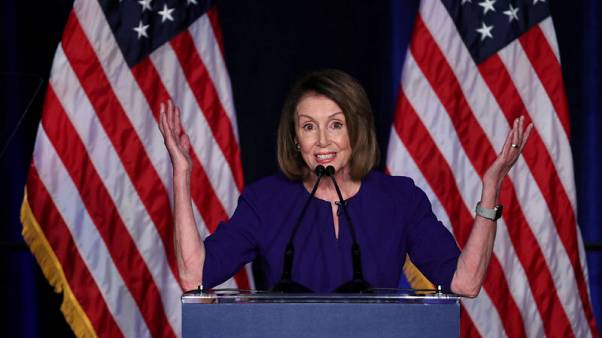 U.S. Democratic leader Pelosi vows to become House speaker
