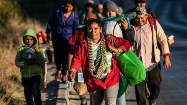 Mexique: plus de 1.500 migrants de la caravane arrivés à la frontière américaine