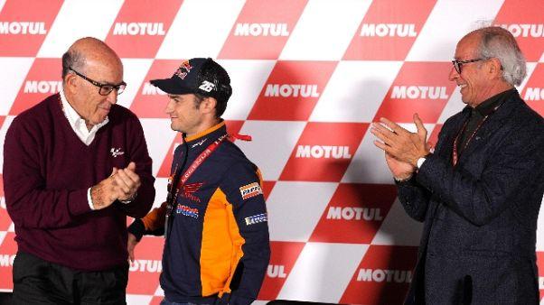 Valencia, il 'MotoGp Legend' a Pedrosa
