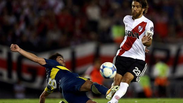 River Plate's Ponzio fit for Libertadores final second leg