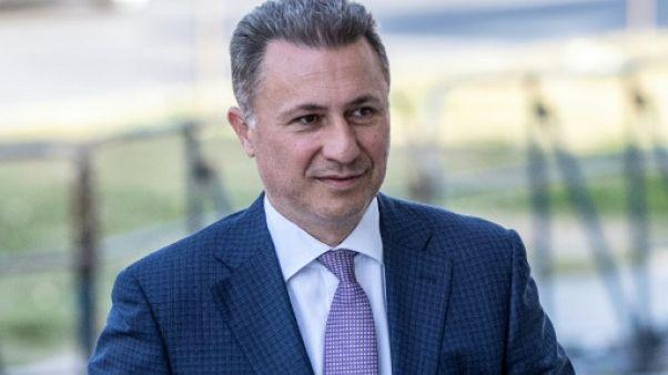Macédoine: Gruevski a utilisé une voiture diplomatique hongroise pour fuir selon la police albanaise
