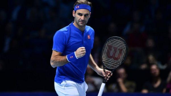 Masters: Federer domine Anderson et termine premier de sa poule