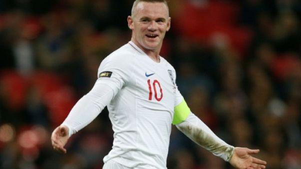 Amical: l'Angleterre domine les Etats-Unis pour les adieux de Rooney