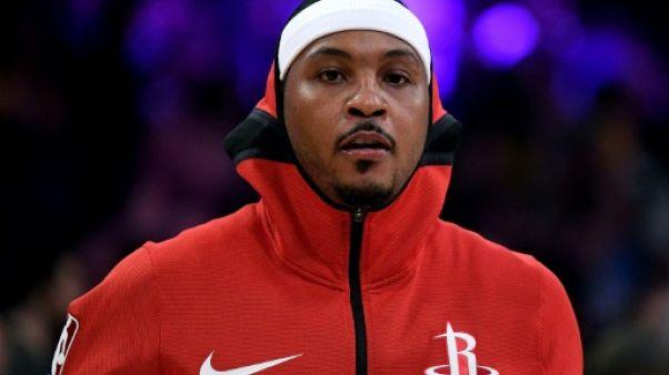 NBA: Carmelo Anthony et Houston, c'est déjà fini