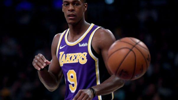 NBA: le meneur des Lakers Rondo va être opéré, 3 à 5 semaines d'absence