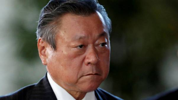Olympics - Japan's cybersecurity minister contradicts 'never used a computer' comment