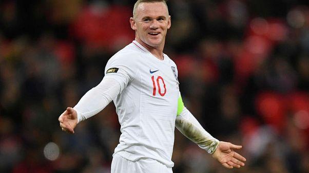 إنجلترا تشاهد لمحات من المستقبل في وداع روني
