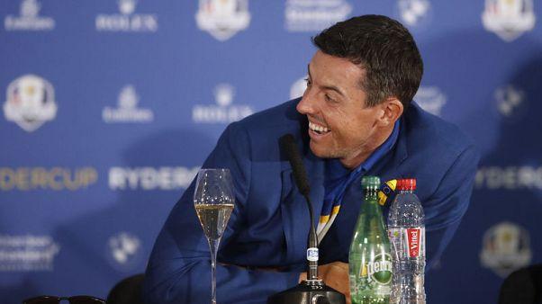 Golf - McIlroy shrugs off Ryder Cup captaincy concerns