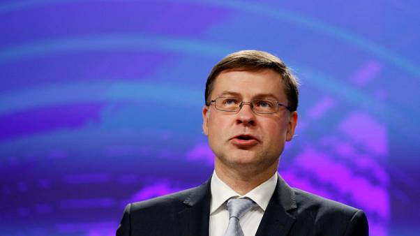 Italy's budget openly challenging EU budget rules - Dombrovskis