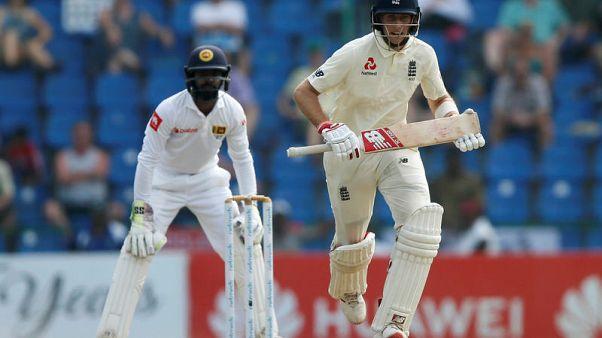 Cricket - Root, Burns put England on top against Sri Lanka