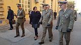 Visita in Umbria ministro Difesa Trenta