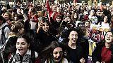 Scuola: studenti in piazza in 70 città