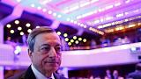 ECB's Draghi raises prospect of slower inflation as outlook clouds