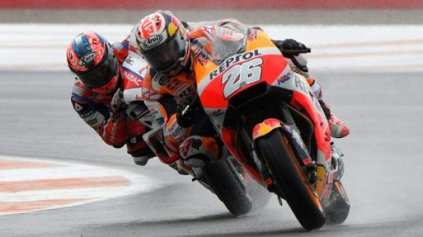 Moto: les essais libres du GP de Valence ont repris