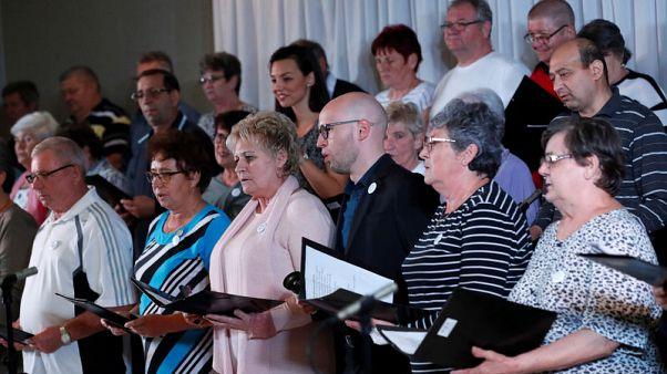 الغناء الجماعي يساعد مرضى الرئة على سهولة التنفس