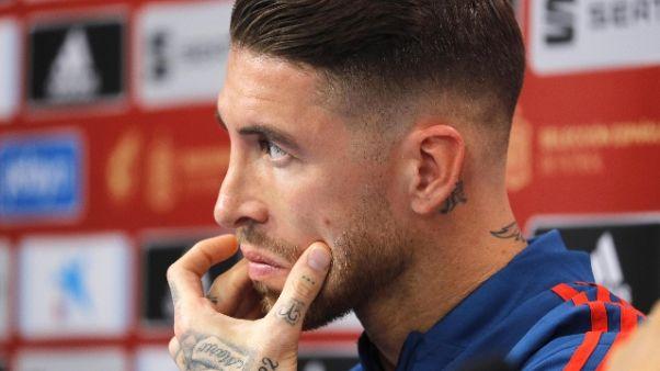 Guai fisici, Ramos lascia ritiro Spagna