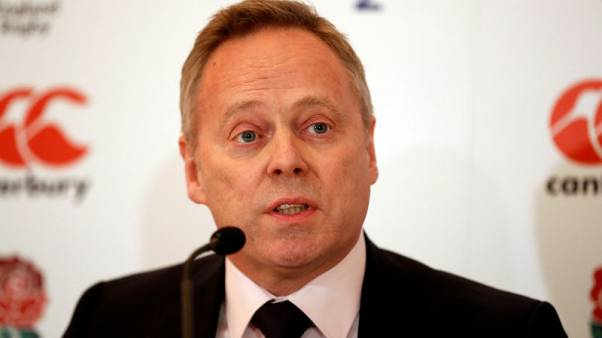 CEO Brown to leave RFU at end of year
