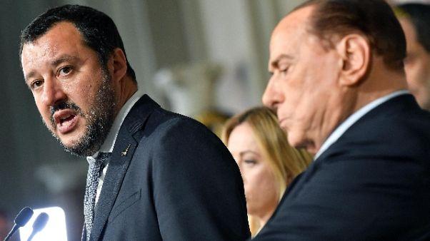 Ieri incontro Berlusconi-Salvini