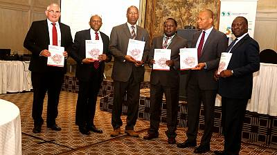 """Building a new Zimbabwe"", a flagship report launched by the African Development Bank to spark the country's economic development"