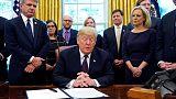 ترامب: الصين تريد اتفاقا تجاريا، وأمريكا قد لا تفرض المزيد من الرسوم الجمركية