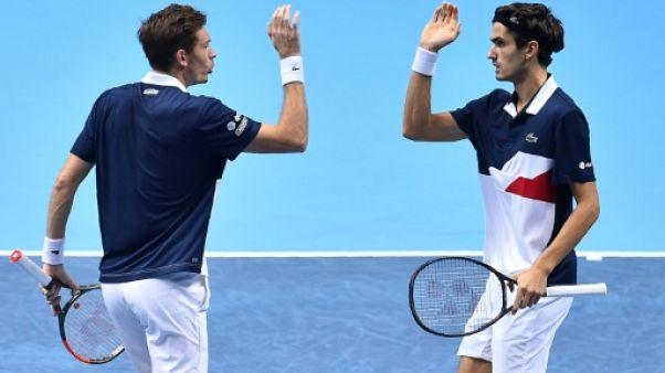 Tennis: Mahut et Herbert qualifiés pour les demi-finales du double à Londres