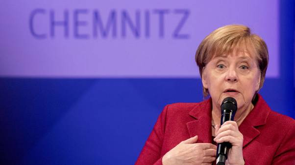 Merkel tells people of Chemnitz - Don't let haters set the agenda