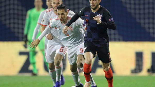 Croatia midfielder Rakitic out of England Nations League game