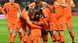 Ligue des nations: première défaite pour la France depuis le titre, aux Pays-Bas (2-0), l'Allemagne reléguée