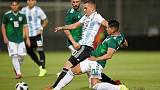 Goal in each half gives Argentina 2-0 win over Mexico