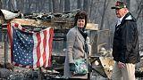 """A Paradise, ville dévastée par le feu, Trump exprime sa """"tristesse"""""""