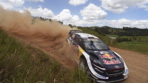 Rallye d'Australie: Ogier contient Neuville mais la menace Tänak grandit
