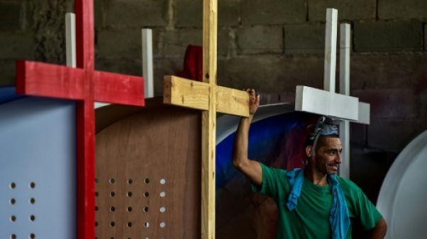 Un détenu de la prison de La Joya, au Panama, le 13 novembre 2018