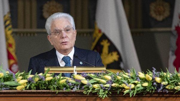 Mattarella ricorda giudice Luigi Daga
