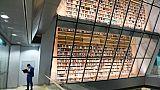 La bibliothèque nationale de Lettonie, à Riga, le 16 novembre 2018