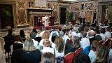 Papa: ampliare spazi per le donne