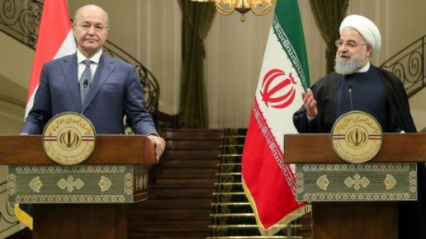Première visite officielle du nouveau président irakien en Iran