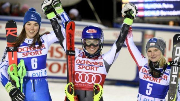 Slalom de Levi: coup double pour Shriffin